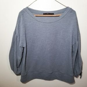 Anthropologie Hazel Balloon Sleeve Sweater